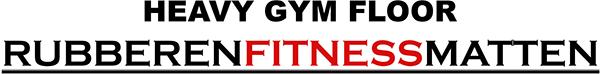 rubberen fitness matten